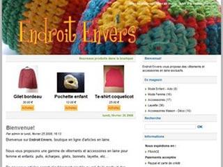 Endroit Envers : Vêtements et accessoires laine