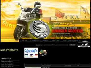 Scooter Eurocka, fabricant de scooters chinois