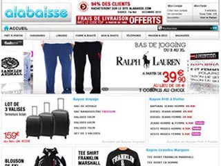 Alabaisse : Le plus grand bazar du web