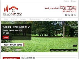 L'agence immobilière Claix couleur locale