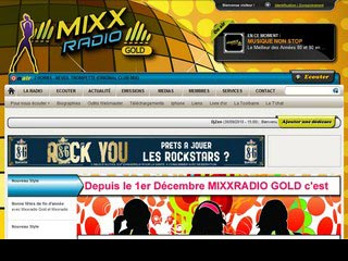 MIXX radio Gold, La Radio 100% Années 80 et 90