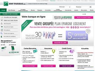 La Net Agence : la banque en ligne de BNP Paribas