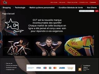 GVT Sport : Vêtements de cyclisme et maillot cyclisme