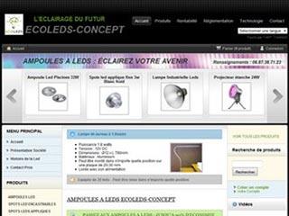 Ecoleds-Concept, systèmes d'éclairage à leds