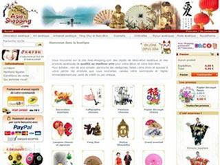 Asie Shopping : Decoration asiatique, chinoise et japonaise
