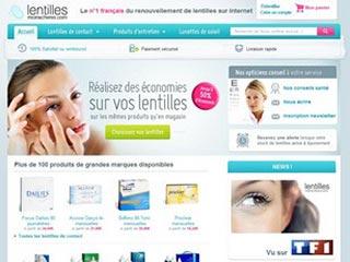 Lentilles-moins-chères, renouveler vos lentilles de contact