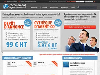 Recrutement Agent Commercial, informations et mise en relation