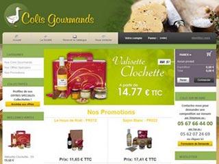 Colis Gourmands : paniers gastronomiques