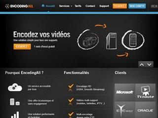EncodingAll: nouvelle plateforme d'encodage vidéo en ligne