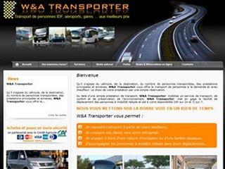 WetA Transporter, autocariste et transport de personnes