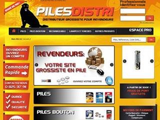 Piles Distri : grossiste piles et énergie portable pour revendeurs