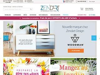 Boutique de meubles et décoration design - Zendart Design