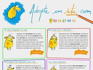 Adopte un site, création de site internet à Nancy