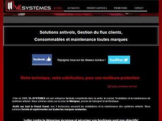Portique antivol, VL Systemes à Bordeaux