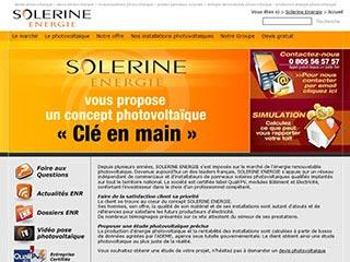 Solerine Energie, entreprise dans le photovoltaïque