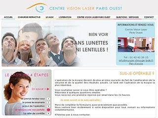 Centre Vision Laser Paris Ouest : Chirurgie des yeux
