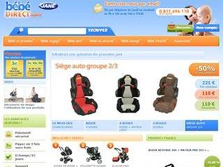 Bébé direct, poussettes et sièges auto Jané