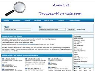 Trouvez Mon site, annuaire référencement généraliste