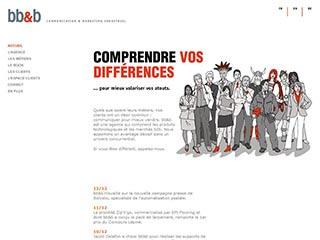 bb&b agence de communication et marketing industriel