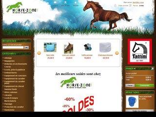 Horse-zone, large choix d'accessoire équitation