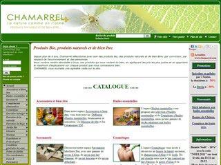 Chamarrel : Produits bio, pierre d'Alun et baie de Goji bio