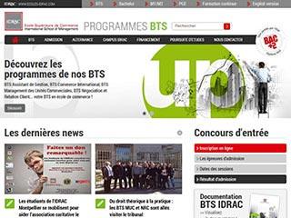 Bts idrac : BTS et BTS en alternance à IDRAC
