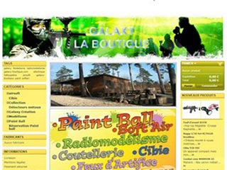 Galaxy boutique : Radiomodelisme, air soft et paint ball