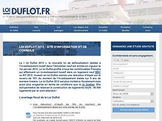Défiscalisation Loi Duflot information et conseils
