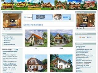 Maisons et chalets bois - Maisons de rêve