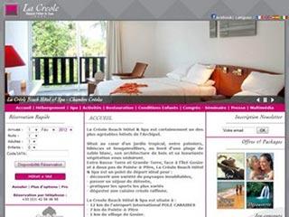 Le Créole Beach Hôtel et Spa en Guadeloupe