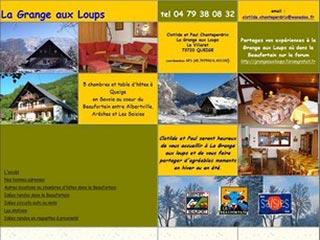 La Grange aux Loups, chambres et table d'hôtes