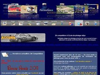3A Compétition, stage de pilotage sur circuit automobile