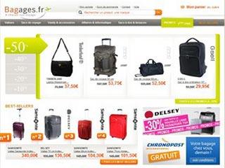 Bagages FR, spécialiste des sacs de voyages et bagages
