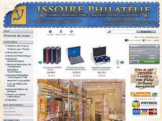 Issoire philatelie : Timbres, monnaies euro, matériel toutes collections
