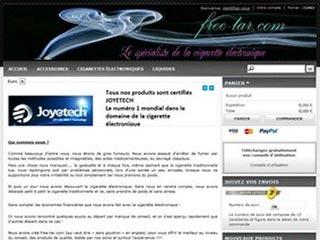 Free-tar, le spécialiste de la cigarette électronique