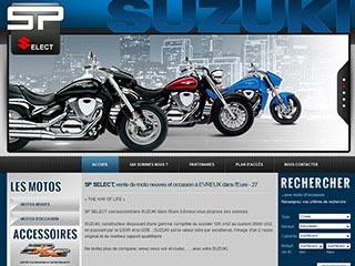 SP Select, atelier moto et vente pièces d'origine Suzuki