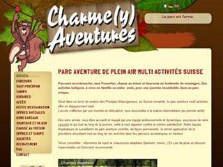 Charmey Aventures, parc aventure suisse romande