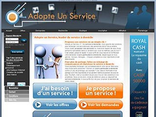 Adopte Un Service : Plate-forme d'échange de services