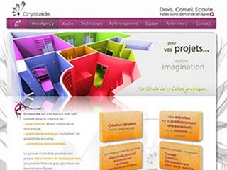 Crystalide : Agence web et ventes sites web