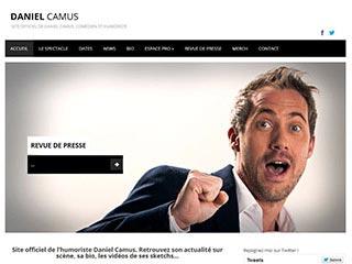 Daniel Camus : Site officiel du comédien et humoriste