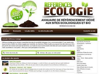 Référence écologie l'annuaire de sites bio et écolo