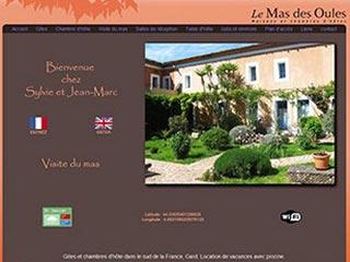 Le Mas des Oules, maisons et chambre d'hôte dans le Gard