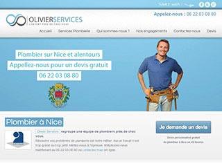 Travail de plombier sur Nice avec Olivier Services
