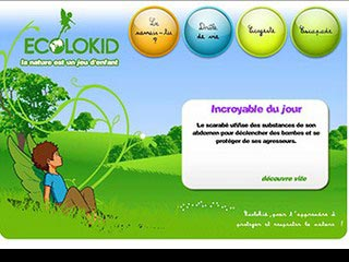 Ecolokid, la nature est un jeu d'enfant