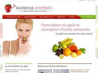 Evidence Aromatic, formulation du goût
