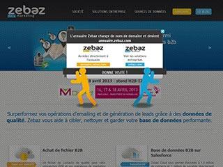 Zebaz Data Marketing : Achat de fichier B2B